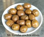 Mr. Goudas Cracked Olives