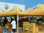 GIANT TIGER TENT SALE WITH GOUDAS PRODUCTS